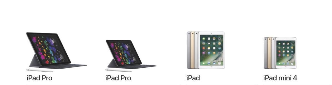 Famiglia iPad